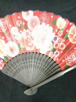 Japán mintás legyező