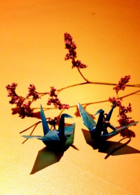 Origami fülbevalók